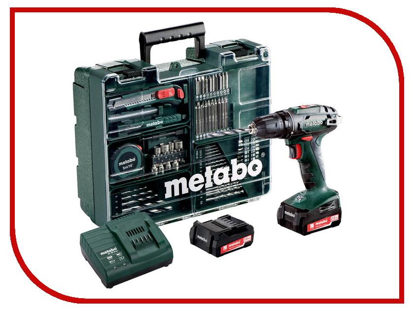 Электроинструмент Metabo BS14.4 2х2.0 LiIon 602206880<br>
