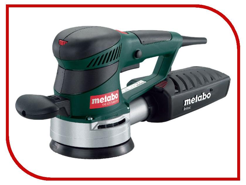 Шлифовальная машина Metabo SXE 425 TurboTec 600131000 шлифовальная машина metabo wev 10 125 quick 600388000
