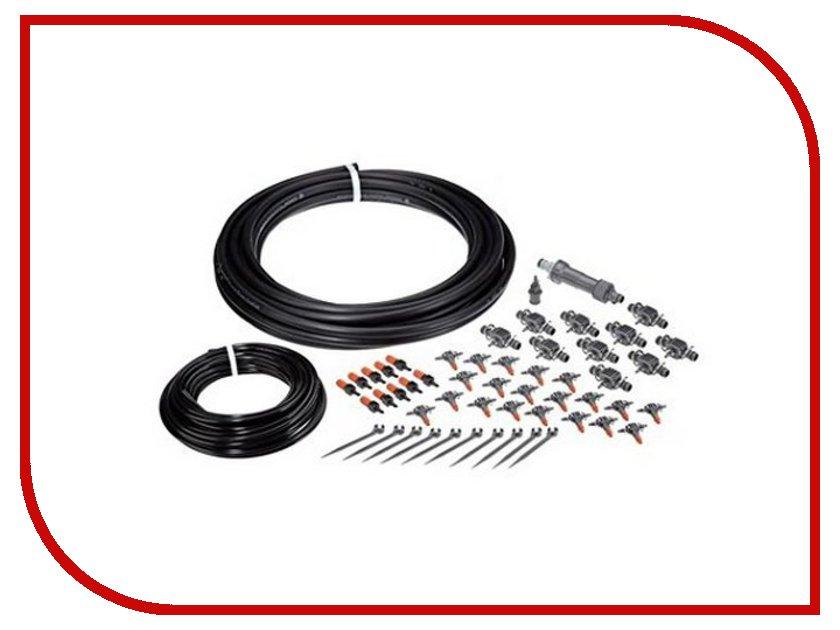 Комплект микрокапельного полива GARDENA 13001-20.000.00 базовый комплект для полива gardena 01402 20 000 00 для цветочных ящиков базовый