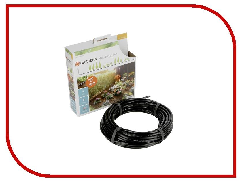 Комплект для полива GARDENA 13010-20.000.00 базовый для наземной прокладки шланг gardena сочащийся для наземной прокладки 13 мм 1 2 х 50 м с фитингами 13013 20 000 00