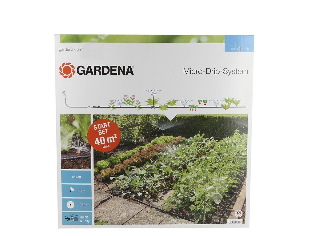 Комплект микрокапельного полива Gardena 13015-20.000.00 для грядок