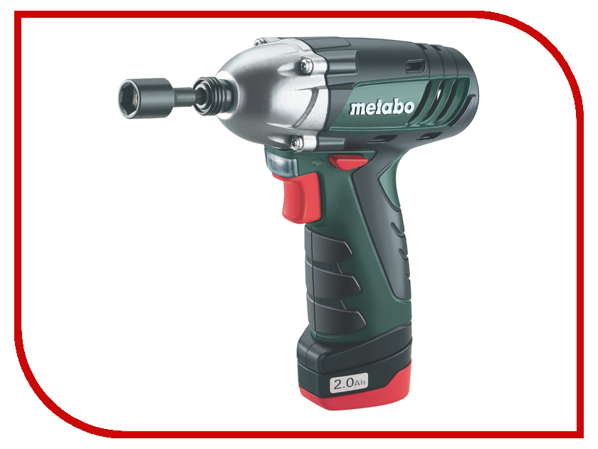 Гайковерт Metabo PowerMaxx SSD 2x2.0Ah 600093500