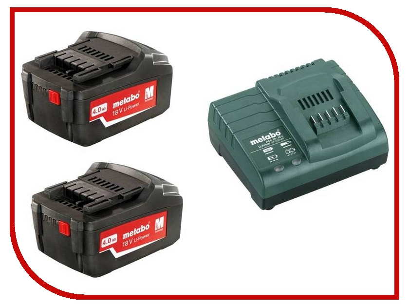Комплект Metabo Basic-Set 4.0 685050000