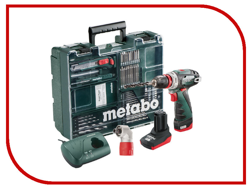 Электроинструмент Metabo PowerMaxx BS Quick Pro Set 600157880 powermaxx ssd