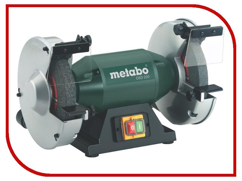 Электроточило Metabo DSD 200 619201000 электроточило kolner kbg 200 370m