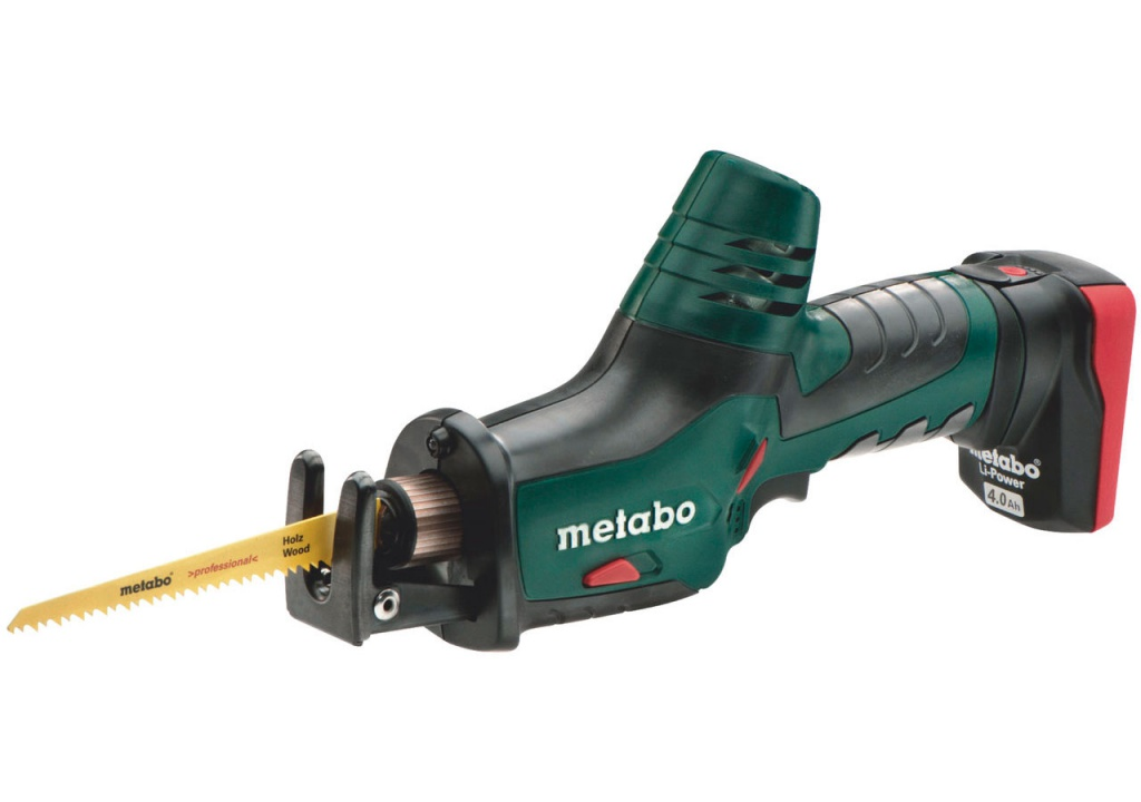 Пила Metabo Powermaxx ASE 10.8 2x4.0 LiIon MetaL 602264750
