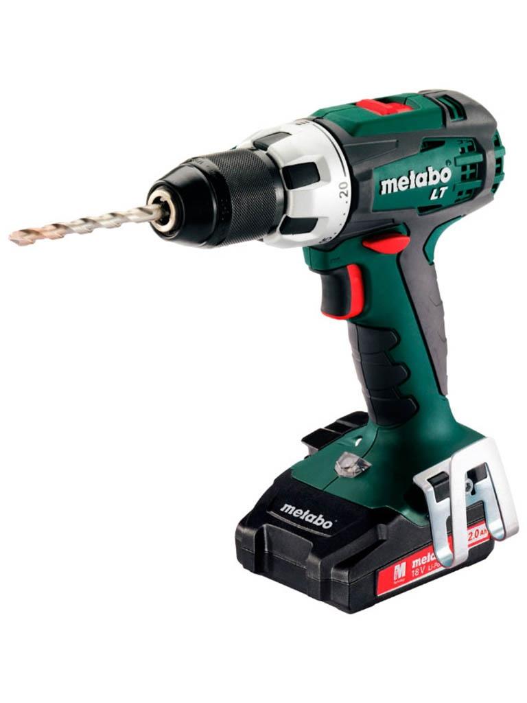 Электроинструмент Metabo BS18LTSet2x2.0 Li 602102600