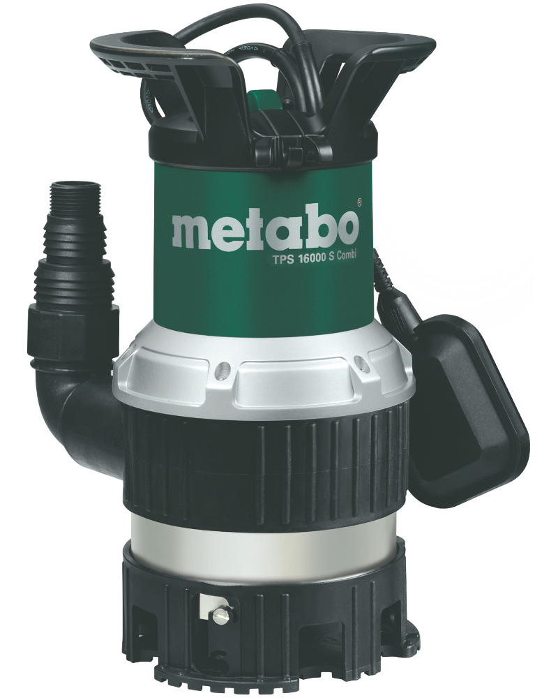 Насос Metabo TPS 16000 S Combi 970Вт 0251600000 насос metabo ps 15000 s 850вт 0251500000