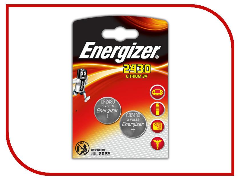 Батарейка CR2430 - Energizer Lithium 3V (2 штуки)<br>