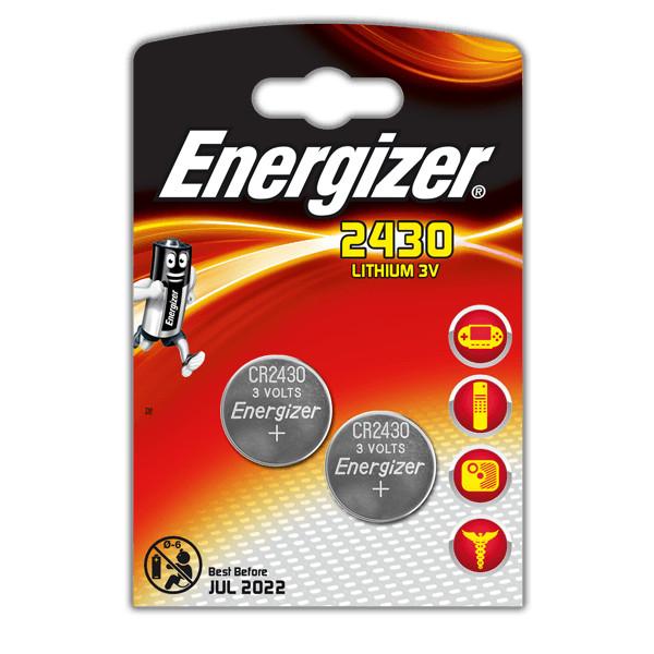 Батарейка CR2430 - Energizer Lithium 3V (2 штуки) E300830301 / 28768 стоимость