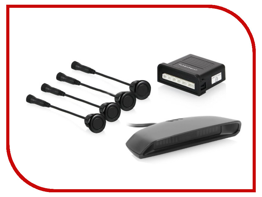 парктроник-flashpoint-fp-400c-black