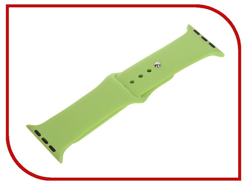Аксессуар Ремешок Apexto AP-Wristband для iWatch Green AP-WristbandiWatch-G<br>