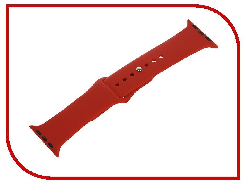 Аксессуар Ремешок Apexto AP-Wristband для iWatch Orange AP-WristbandiWatch-O<br>
