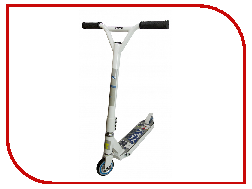 Самокат Atemi ASTS16-1 White