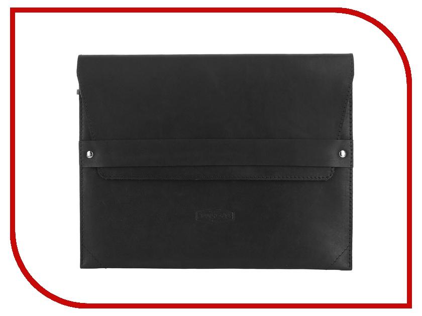 Аксессуар Чехол Tanners Tesla для APPLE iPad 4 Black<br>