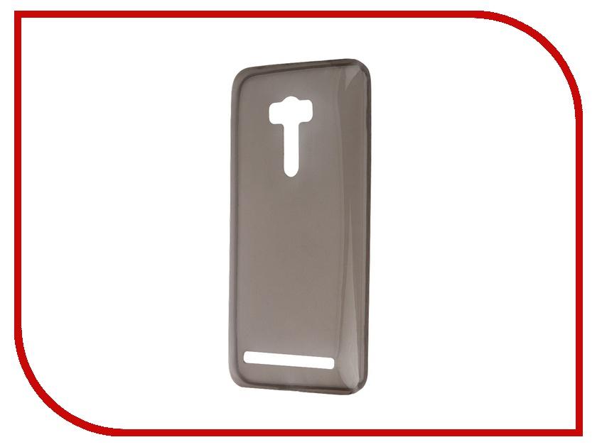 Аксессуар Чехол-накладка ASUS ZenFone Selfie ZD551KL Krutoff Transparent-Black 11726<br>