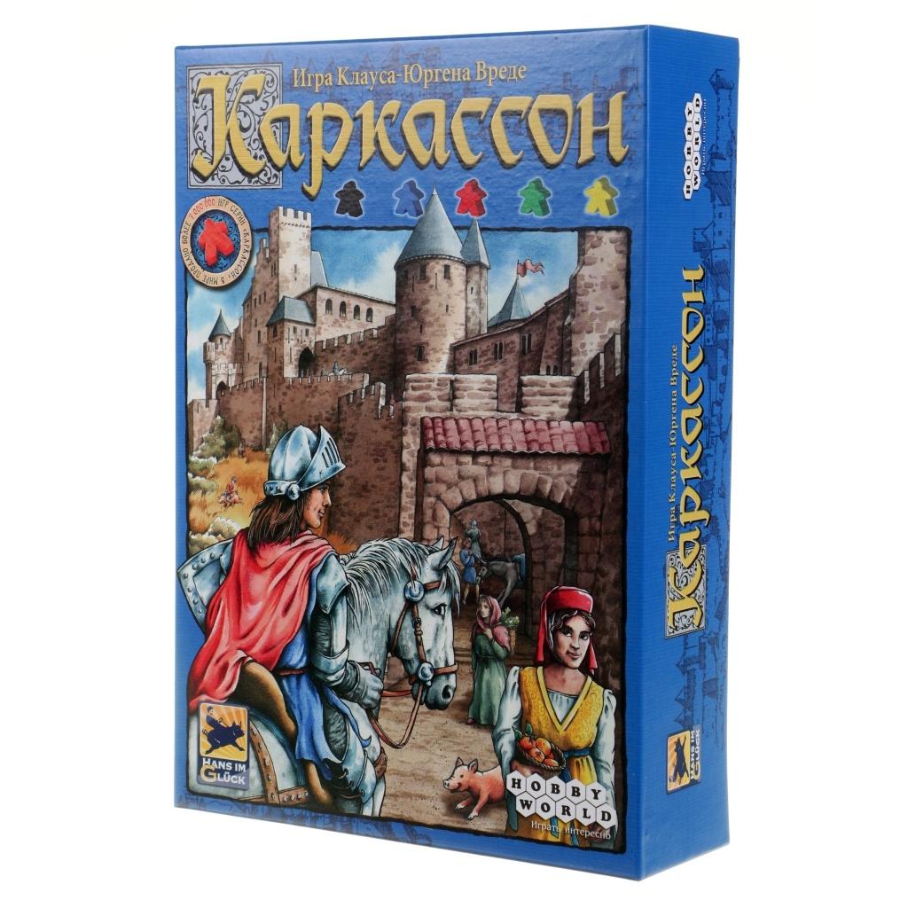Настольная игра Hobby World Каркассон. Средневековье 1111 настольная игра hobby world пиратские короли 1597