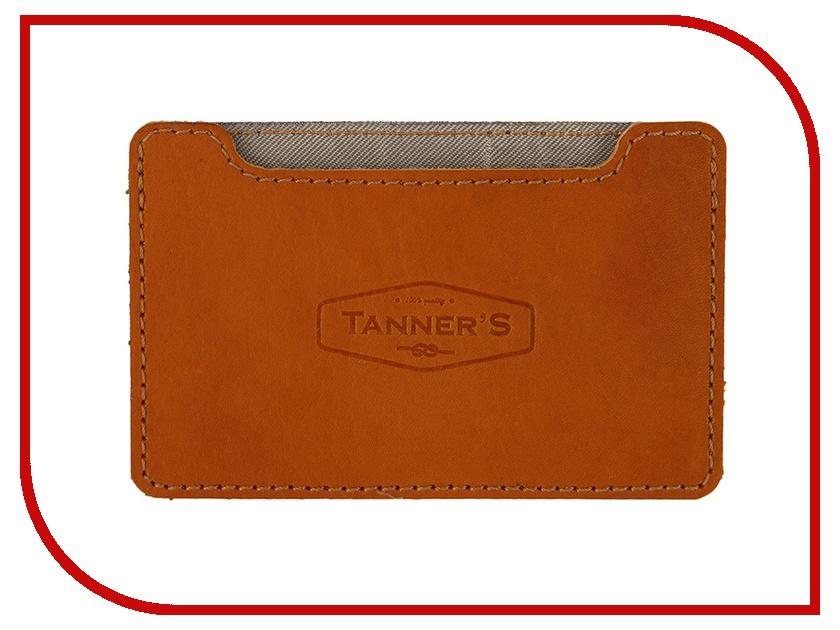 Аксессуар Tanners RFID Brown - Визитница с блокировкой