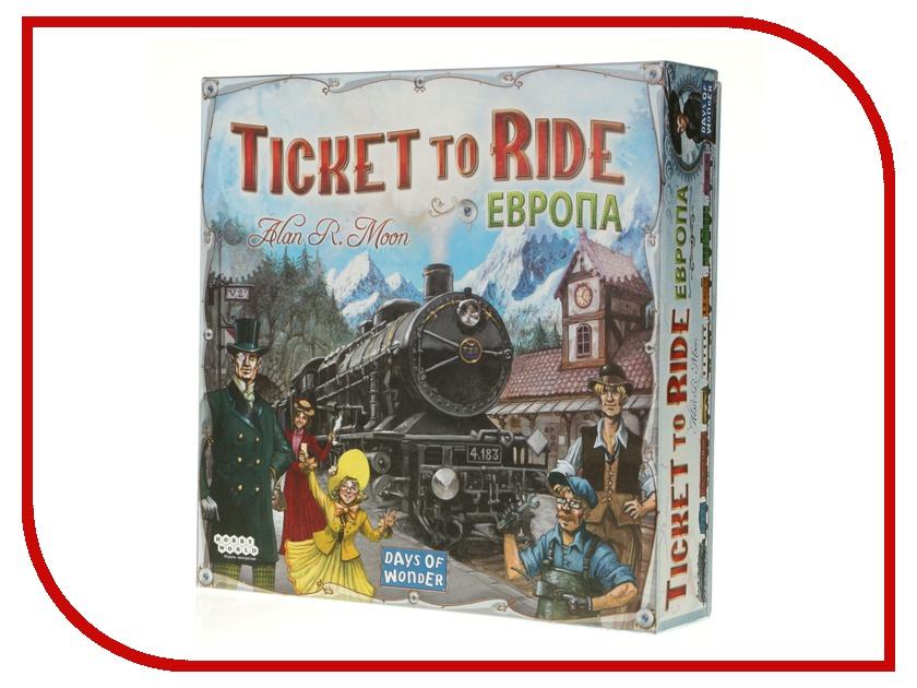 Настольная игра Hobby World Европа 1032 настольная игра ticket to ride junior европа