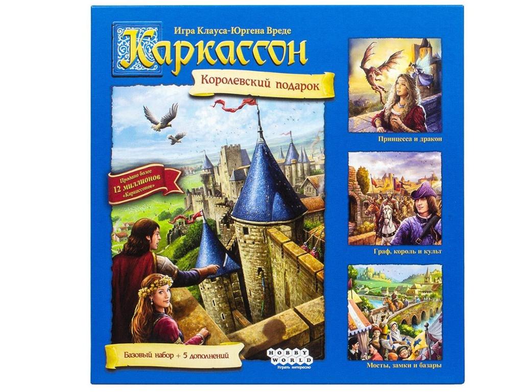 Настольная игра Hobby World Каркассон. Королевский 1087