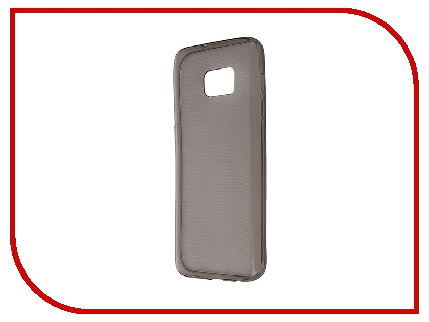Аксессуар Чехол-накладка Samsung Galaxy S7 SM-G930F Krutoff Transparent-Black 11728<br>