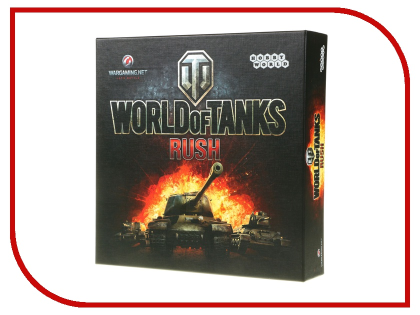 Настольная игра Hobby World World of Tanks Rush 1341