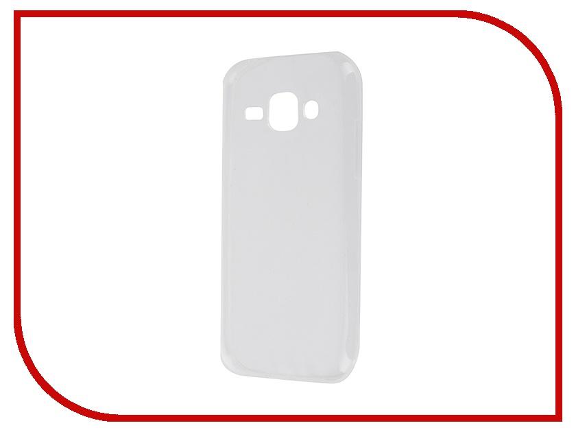 все цены на Аксессуар Чехол-накладка Samsung Galaxy J1 2016 SM-J120F Krutoff Transparent 11729 онлайн