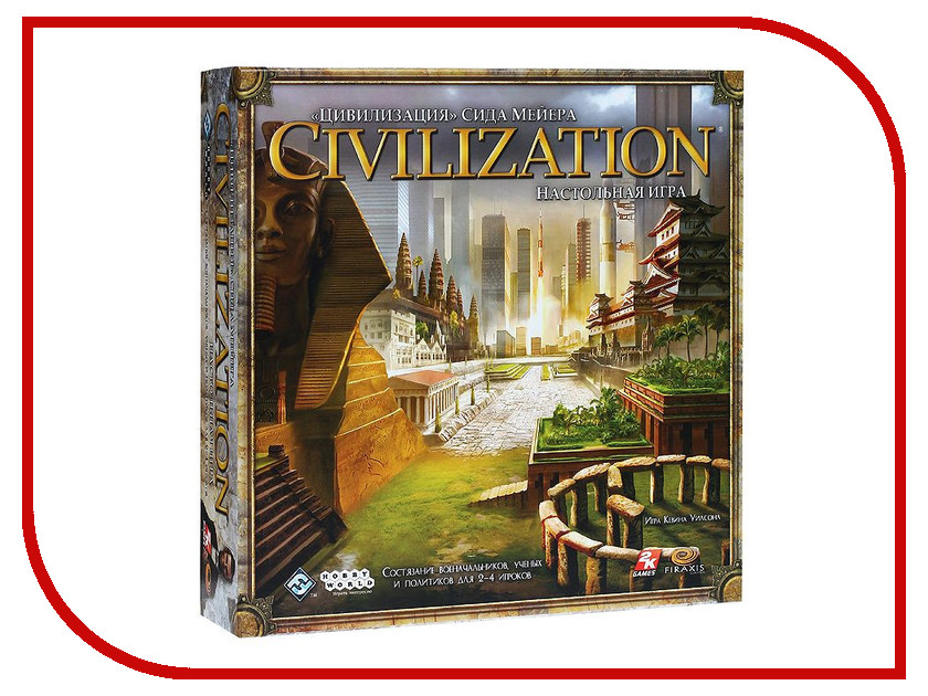 Настольная игра Hobby World Цивилизация Сида Мейера 1112