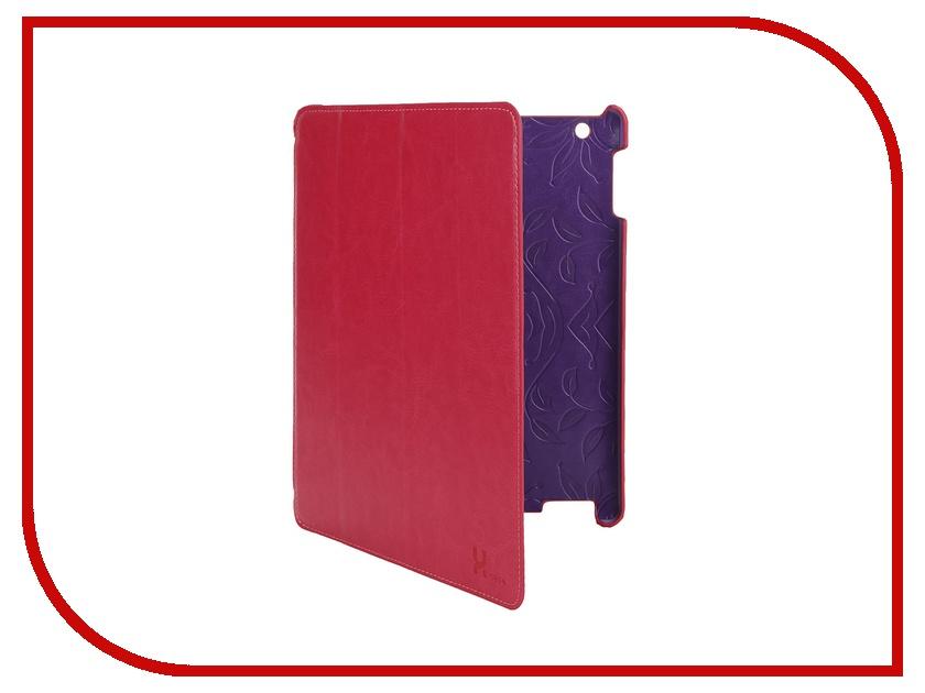 LuxCase Аксессуар Чехол LuxCase Premium для iPad 2/3/4 Гладкая кожа Pink 10366