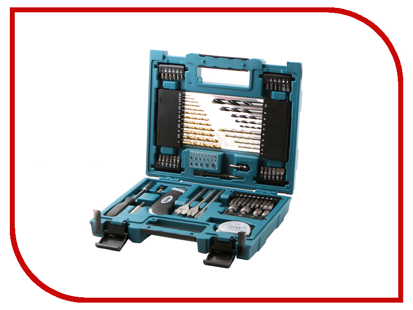 Набор инструмента Makita D-33691 набор принадлежностей makita d 33691 71 предмет