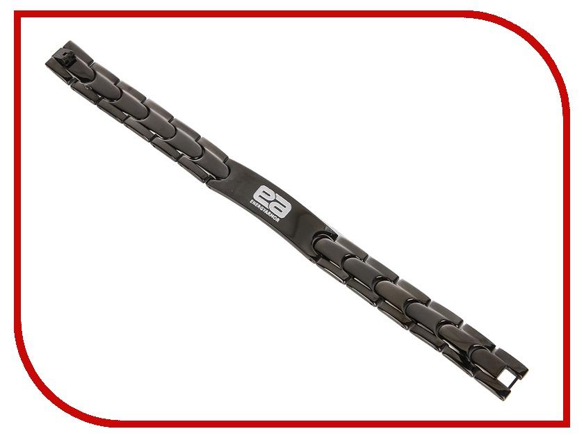 Браслет Energy-Armor Mens Blak Stainless Steel Bracelet S