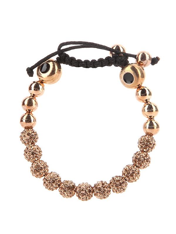 Браслет Energy-Armor Gold Shambala Style Bracelet<br>