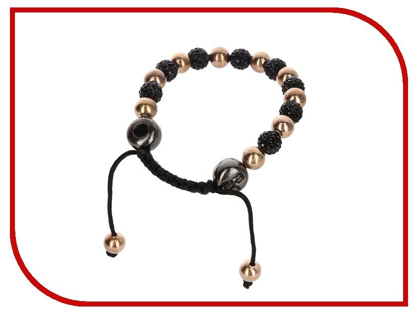 Браслет Energy-Armor Womens Blak-Gold Shambala Style Bracelet