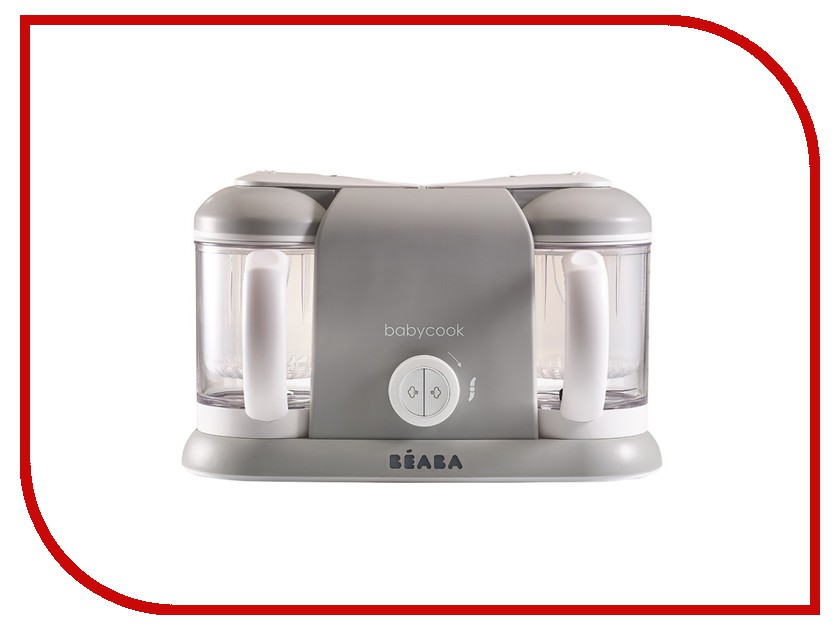 Пароварка Beaba Babycook Plus Grey 912464