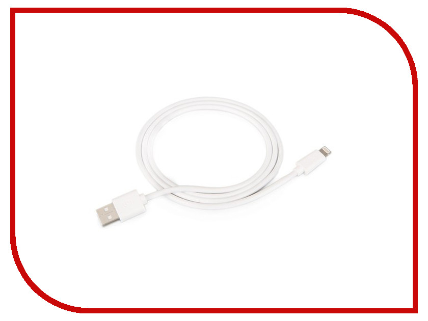 Аксессуар Griffin USB - Lightning 0.9m White GC40179