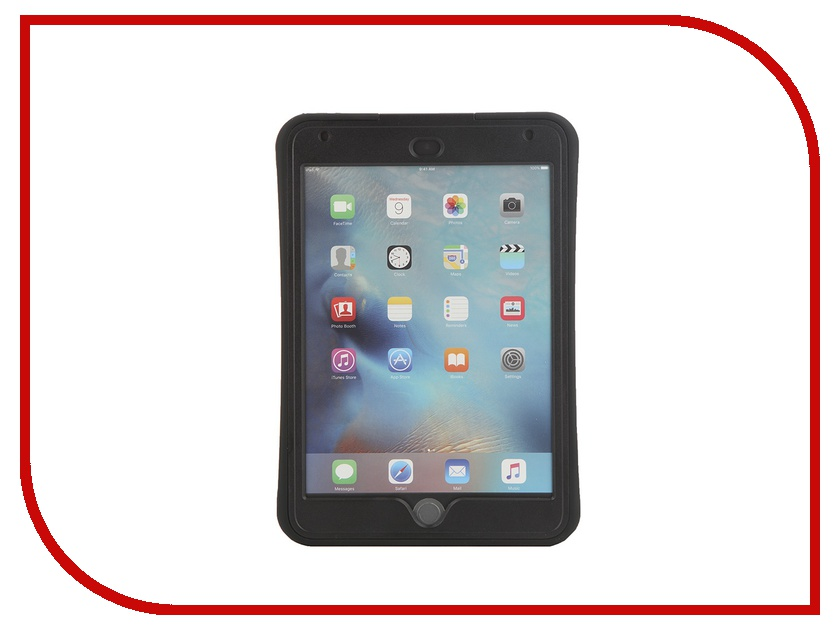 Аксессуар Чехол Griffin Survivor Slim для APPLE iPad mini 4 Black-Black GB41365