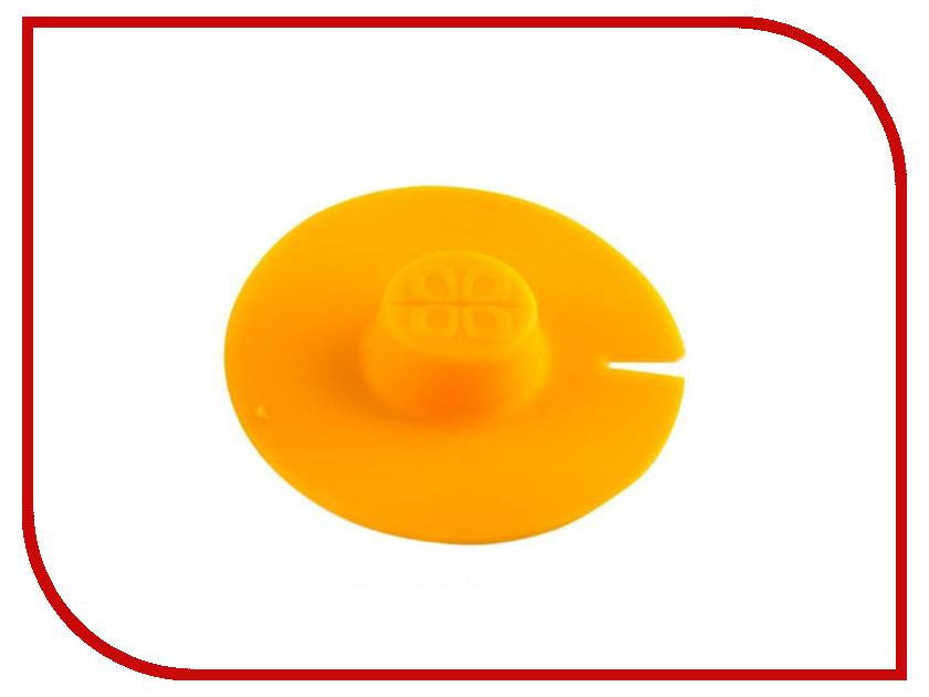 Кухонная принадлежность Bradex Крышка для заваривания и отжима чайных пакетиков Orange TK 0197