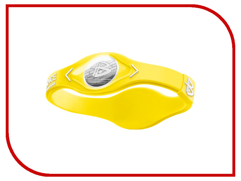 Браслет POWER BALANCE XS NEON White Hologram Yellow/White