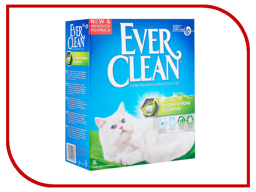 ����������� Ever Clean Extra Strong Clumping Scented 6L 59688