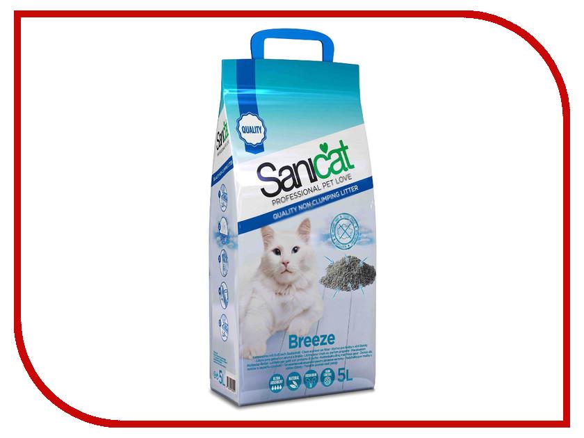 Наполнитель Sanicat Professional Breeeze 5L 54169<br>