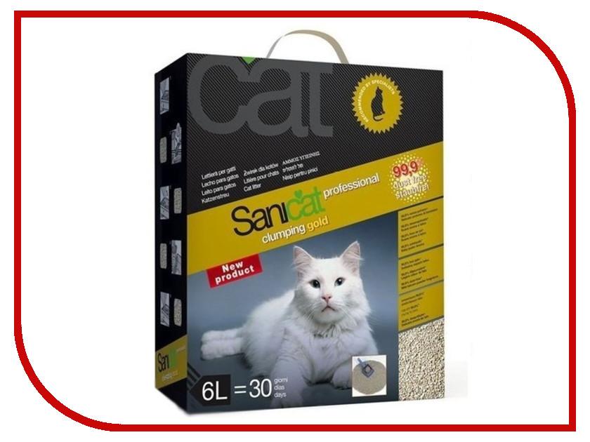 Наполнитель Sanicat Clumping Gold 6L 35427<br>