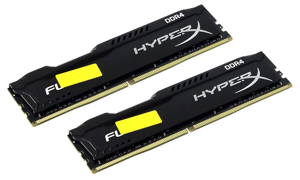 Модуль памяти Kingston HyperX Fury DDR4 DIMM 2400MHz PC4-19200 CL15 - 32Gb KIT (2x16Gb) HX424C15FBK2/32