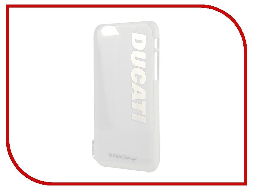 Аксессуар Чехол DRACO Ducati 6 P для iPhone 6 White DR60DUP4-WDUL<br>