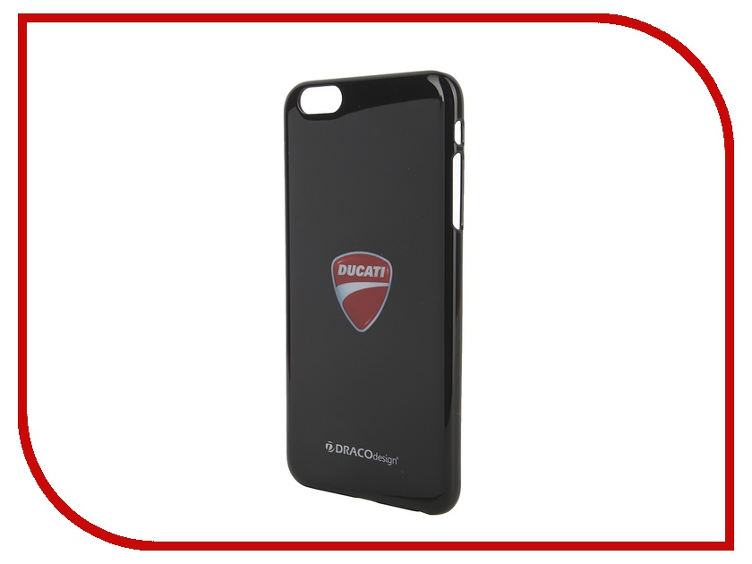 Аксессуар Чехол DRACO Ducati 6 P для iPhone 6 Diavel Dark Black DR60DUP4-DDIA<br>