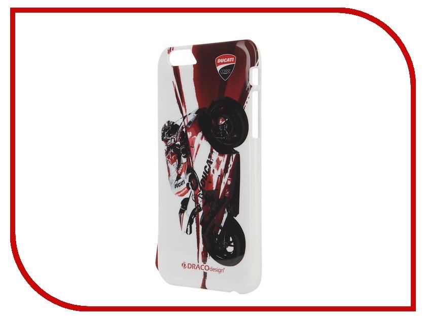 Аксессуар Чехол DRACO Ducati 6 P для iPhone 6 Moto GP1 Black DR60DUP4-DMG1<br>