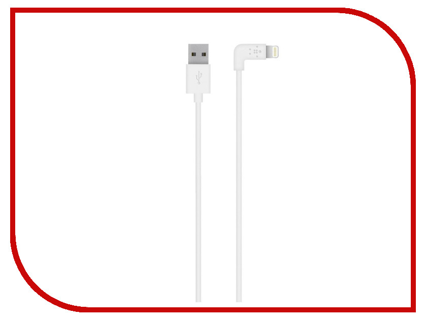 Аксессуар Belkin MIXIT Lightning to USB White 1.2m F8J147BT04WHT<br>