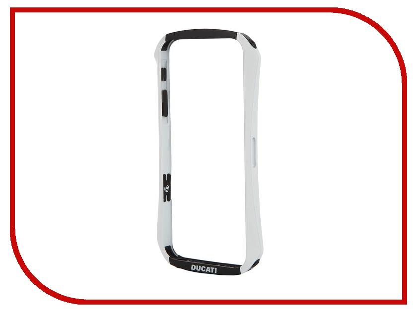 Аксессуар Чехол-бампер DRACO Ventare для iPhone 5/5S White DR50VEA1-WH<br>