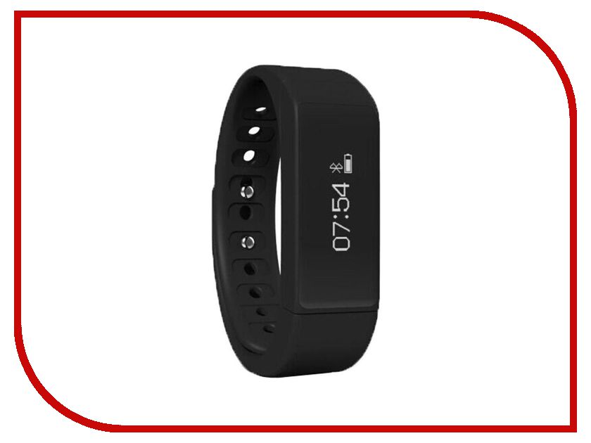 Умный браслет iWOWN i5 Plus Black iwown v6 bluetooth headset smart bracelet