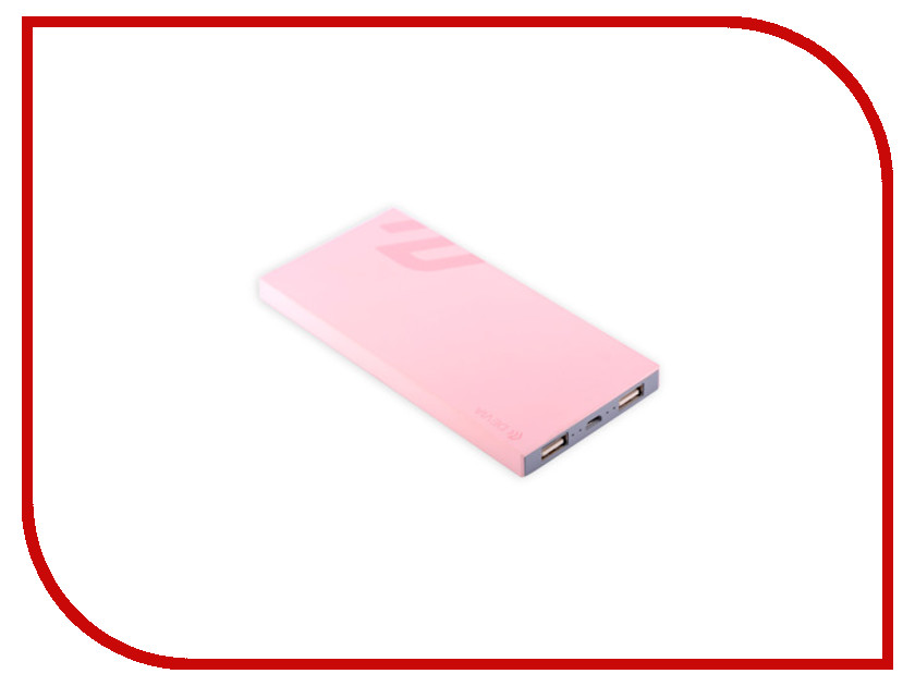 Аккумулятор Devia Slimbox Power Bank 9000 mAh Pink