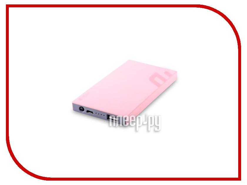 Аккумулятор Devia Slimbox Power Bank 5000 mAh Pink<br>